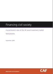 Financing civil society cover