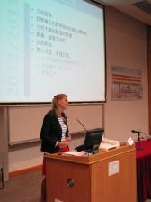 Speaking at HKIED event Nov 2012